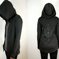 Witching Hour Hoodie with Creature Print from SOVRIN