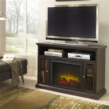 Electric Fireplace Space Heater Tv Stand From Hearts Attic