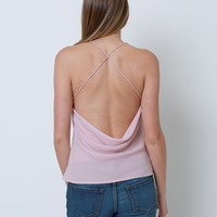 Opposite Of Love Top - Blush Pink
