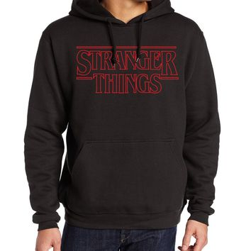 New Stranger Things Netflix Men's Hoodie 2017 Logo Winter Hoodie Many Colors Available