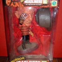 Horror Headliners XL: Freddy # 07763 of 15,000 by Equity