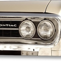 Vintage Pontiac Firebird 1967 Close Up Metal Print By James Bo Insogna