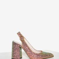 Shellys London Chester Glitter Heel
