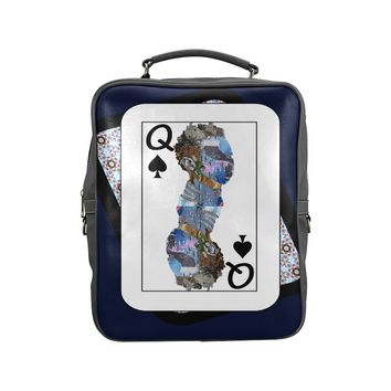 Play Your Hand...Queen Spade No. 2 Backpack