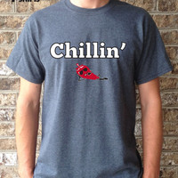 Chilin T-shirt for Him cotton polyester summer gift funny tshirt for men women cool shirt girlfriend boyfriend brother tee