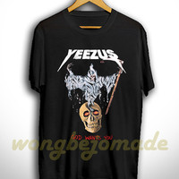 Yeezus Shirt Yeezus God Wants You T Shirt Yeezy Shirt Kanye West Black Color Unisex Size T-Shirt