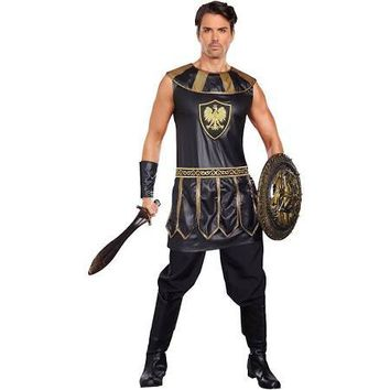 Mens Roman Deadly Warrior Costume, Plus Size