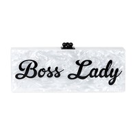 'Boss Lady' Bespoke Clutch | Bags | The Editorialist
