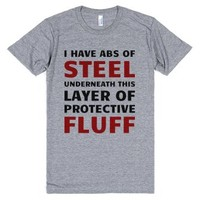 Protective Fluff-Unisex Athletic Grey T-Shirt