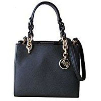 ONETOW MICHAEL Michael Kors Cynthia Small NS Convertible Satchel