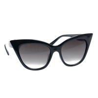Black Pointed Cat Eye Scarlet Sunglasses
