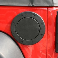 Non-Locking Gas Cap Door, Black, 07-15 Jeep Wrangler | Jeep Wrangler 4-Door Parts | 11425.05 | My Jeep Accessories