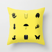 How I Met Your Mother Throw Pillow by George Hatzis
