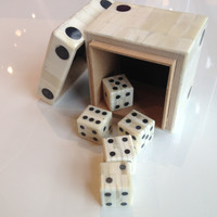 Bone Dice Box