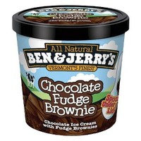 Ben & Jerry's All Natural Chocolate Fudge Brownie Ice Cream 3.6 oz
