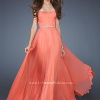 La Femme Dress 18332 at Peaches Boutique