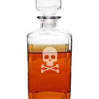 Crossbones & Skull Decanter | zulily