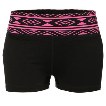 LE3NO Womens Fitted Acitve Sports Fitness Yoga Shorts with Stretch (CLEARANCE)