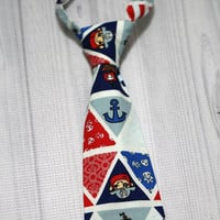 Baby Boy nautical pirate Neck Tie various sizes
