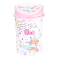 Hello Kitty Wastebasket with Lid
