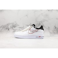 Nike Air Force 1 Low Script Swoosh Pack Sneakers