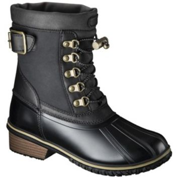Women's Merona® Nikko Snow Boots - Black