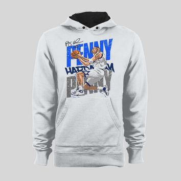 ORLANDO BASKETBALL GREAT PENNY HARDAWAY BASKETBALL CUSTOM ART SWEATER / HOODIE