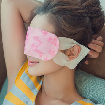 1 Bag Eye Care Steam Eye Mask Fragrance Warm Generating Eye Spa Moisturizing Dark Eyes Warmer Patch