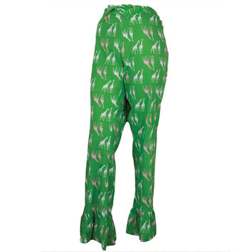 Shop Green Pajama Pants on Wanelo