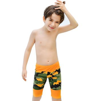 Boys Beachwear Sports Bathing Sutis Kids Camouflage swimsuit Boys Swimsuits Trunks Children Swim suit Kid Swimwear Pant