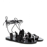 ancient greek sandals - alcyone leather sandals