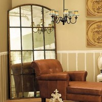 Amiel Arch Antiqued Leaner Mirror Large - Ballard Designs