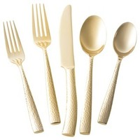 Threshold™ 5 Piece Arkita Flatware Set - Gold