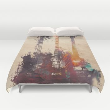 guitars 3 Duvet Cover by jbjart