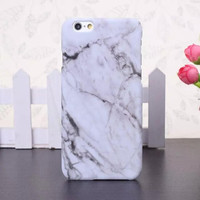 White Marble Stone iPhone 6 6S Case