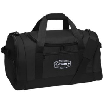 The Ultimate Fan Of The New England Patriots Travel Sports Duffel