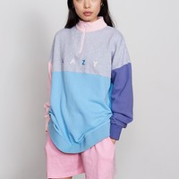Lazy Oaf Lazy Panel Zip Sweatshirt - Everything - Categories - Womens