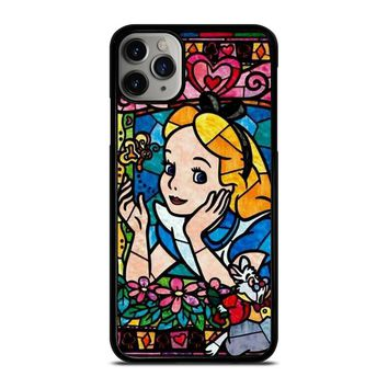 ALICE IN WONDERLAND GLASS DISNEY iPhone Case Cover