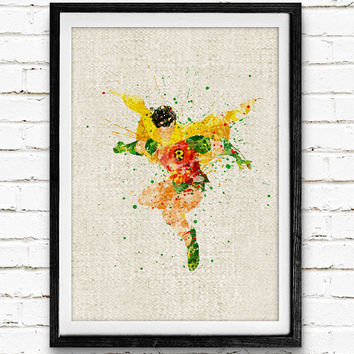 Robin Watercolor Print, DC Comics Batman Marvel Superhero Poster, Boys Room Wall Art, Home Decor, Not Framed, Buy 2 Get 1 Free!
