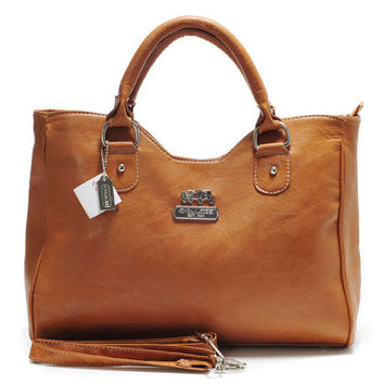 Look Here! Coach Legacy Large Brass Satchels ABY Outlet Online