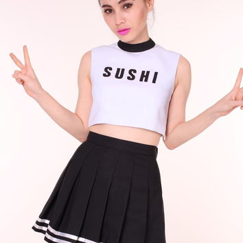 Glitters For Dinner — MADE TO ORDER - Team Sushi Cheerleading Set