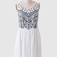 Valley View Embroidered Dress