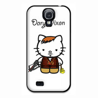 Daryl Dixon Walking Dead Hello Kitty Samsung Galaxy S4 Case