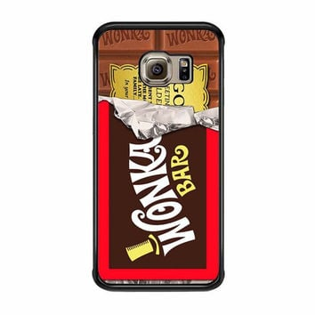 wonka bar chocolate factory samsung galaxy s6 s6 edge cases