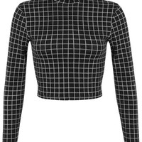 Small Windowpane Top - Tops - Sale & Offers