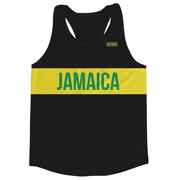 Jamaica Running Tank Top Racerback Track and Cross Country Singlet Jersey