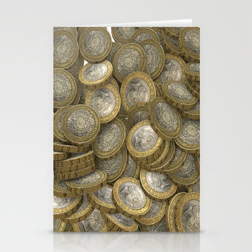 COINS Stationery Cards by abeerhassan