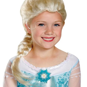 Frozen Elsa Wig Child