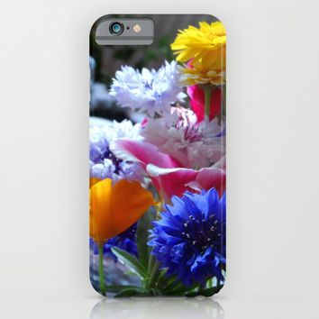 Fresh Flowers iPhone & iPod Case by Alan Hogan | Society6