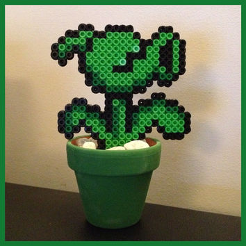 Plants vs Zombies Waterless Plant by K8BitHero on Etsy